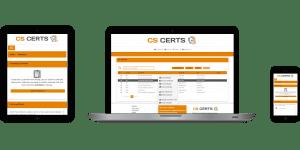 CS Certs service management software device compatible